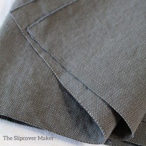 Slipcover Fabric Cotton Poly Canvas Grey