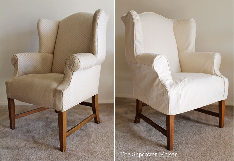 3 Slipcover Tips To Add WOW! To Your Wingback