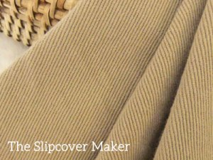 Camel Brown Topsider Denim for Slipcovers