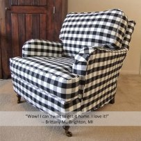 Buffalo-Check-English-Rolled-Arm-Slipcover