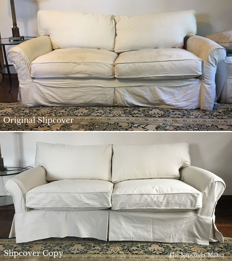 Slipcover Sofa Set: Custom Slipcovers Tailored To Fit