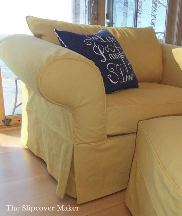 Custom Furniture Slipcovers: Custom Slipcovers Tailored To Fit