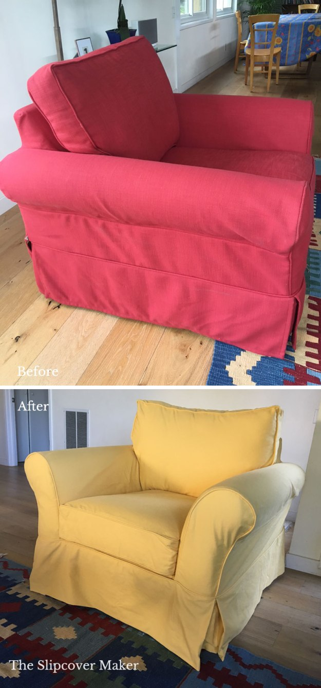 Slipcover Replicate of Pottery Barn Comfort Rolled Armchair