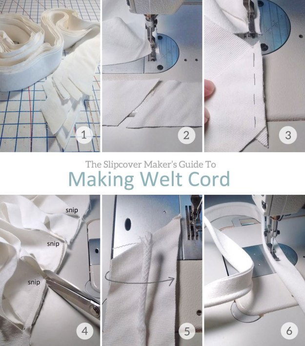 How To Make Slipcover Welt Cord
