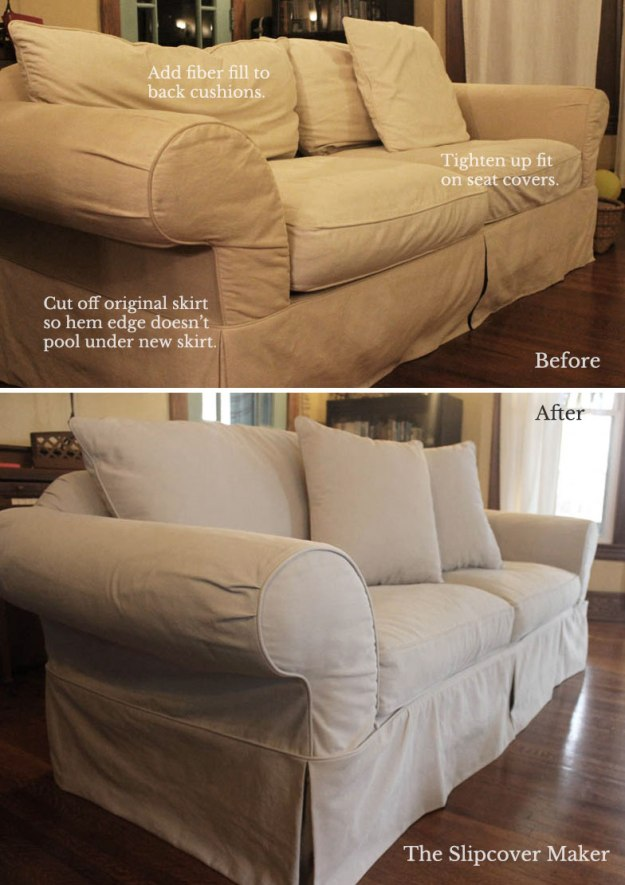 Denim Sofa Slipcover Design Tips