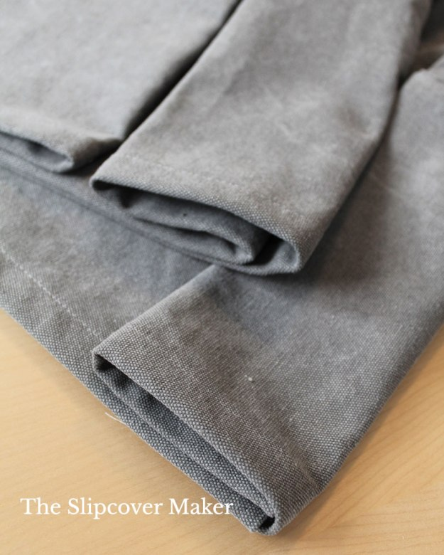 Rugged Stonewashed Cotton Poly Canvas for Slipcovers