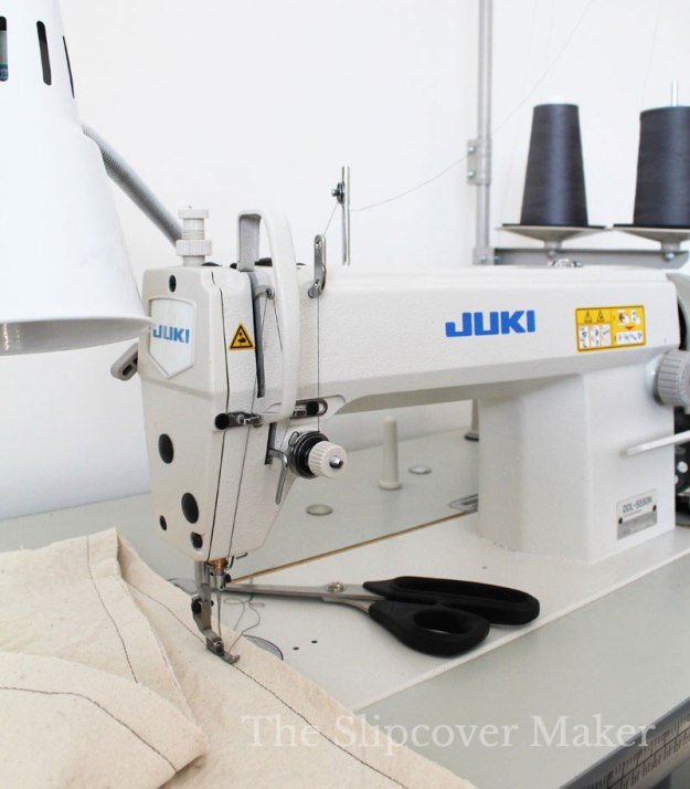Industrial Sewing Machine for Slipcover Making