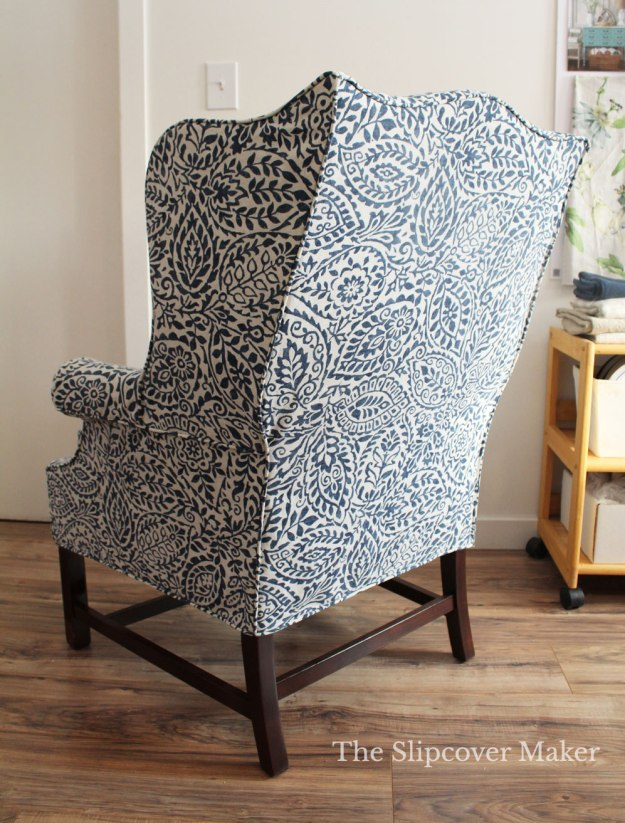 Custom Slipcover for Harden Wing Back Chair