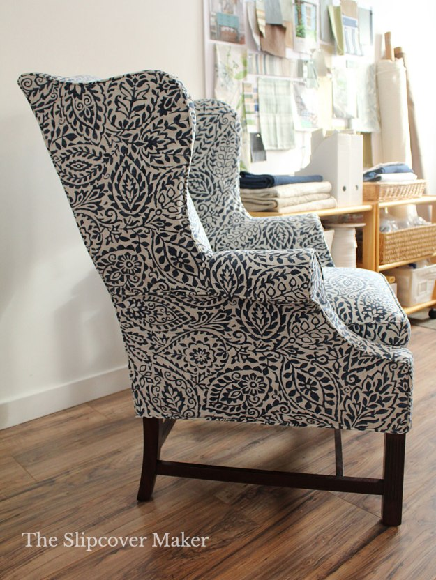 Harden Wing Back Chair Slipcover