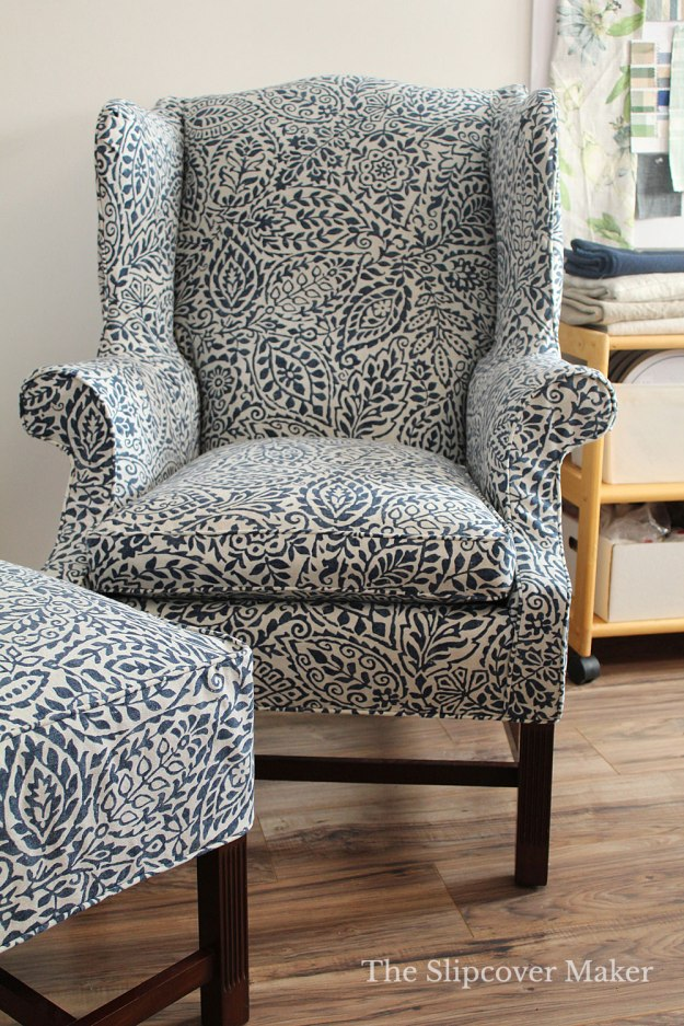 The Slipcover Maker Custom Cover for Harden Chair