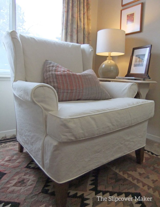 Natural Canvas Slipcover