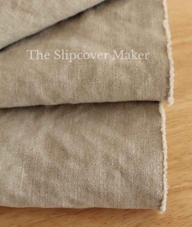 Slipcover Hemp Canvas Taup