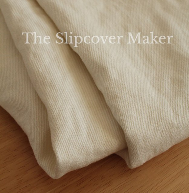 Natural Hemp Twill for Slipcovers