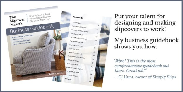 Business Ebook for Slipcover Makers